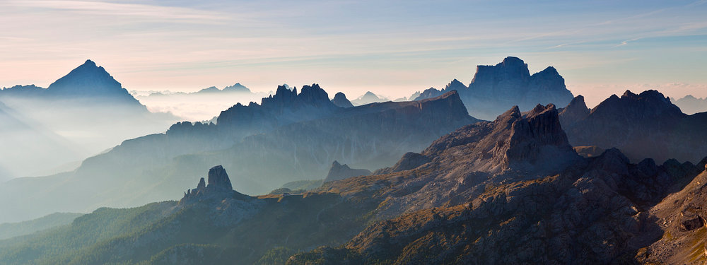 Alu Dibond Dolomiten matt