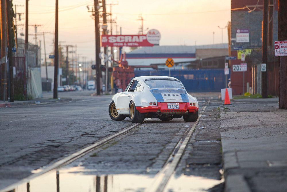 Alu Dibond Porsche matt oder glänzend