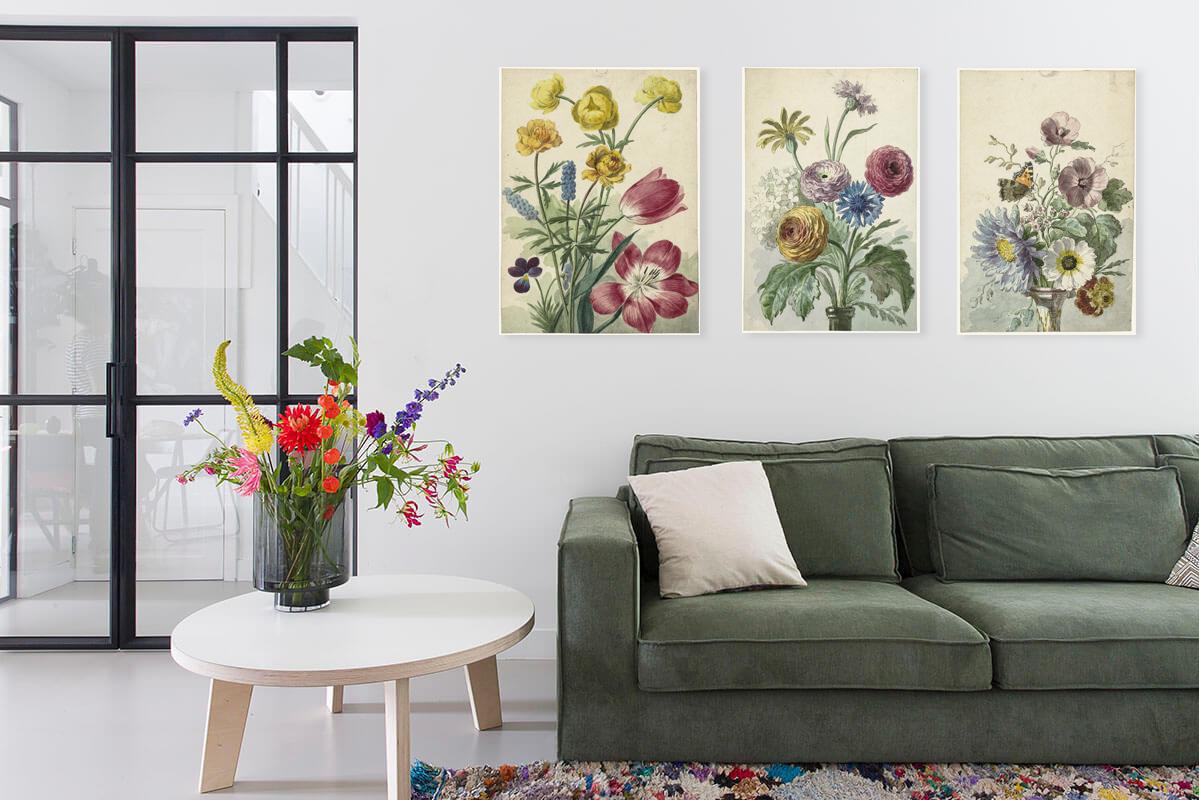 Wanddecoratie combinaties en collages