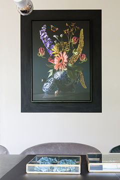 Nature morte florale sur toile OhMyPrints