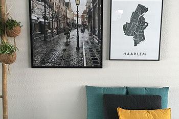 Ingelijste posters van Haarlem