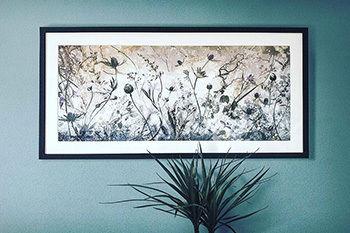tirage photo encadré avec des fleurs OhMyPrints