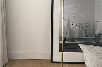 tirage photo encadré avec noir et blanc OhMyPrints
