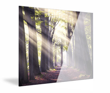 Foto op acrylglas van Werk aan de Muur zijkant