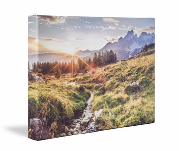 Canvas De Skew 4 Fold Mountain