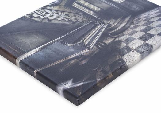 Canvas print Werk aan de Muur 2 cm dik