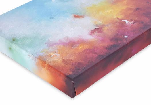 Canvas print Werk aan de Muur 4,5 cm dik