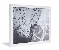 Framed Skew White