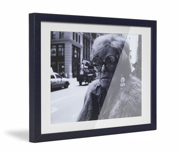 Framed Skew Black Pp Cream