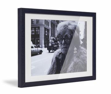 Framed Skew Black Pp Cream