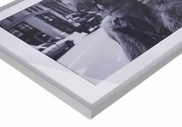 Ingelijste fotoprint poster Werk aan de Muur hoek
