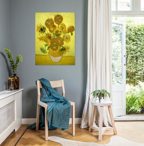 Vincent Van Gogh Zonnebloemen Oude Meester Collectie
