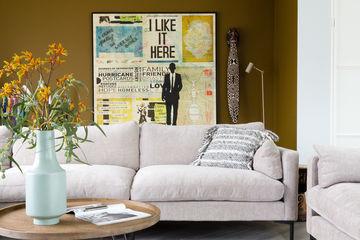 Kunst van db Waterman gezien bij Weer verliefd op je huis van vtwonen in Den Bosch door stylist Frans