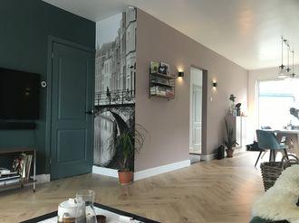 Fotobehang van Utrecht sepia