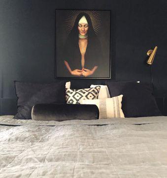 Portret vrouw Froukje de Both Slaapkamer