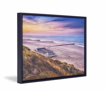 Canvas De Skew Float Black Coast