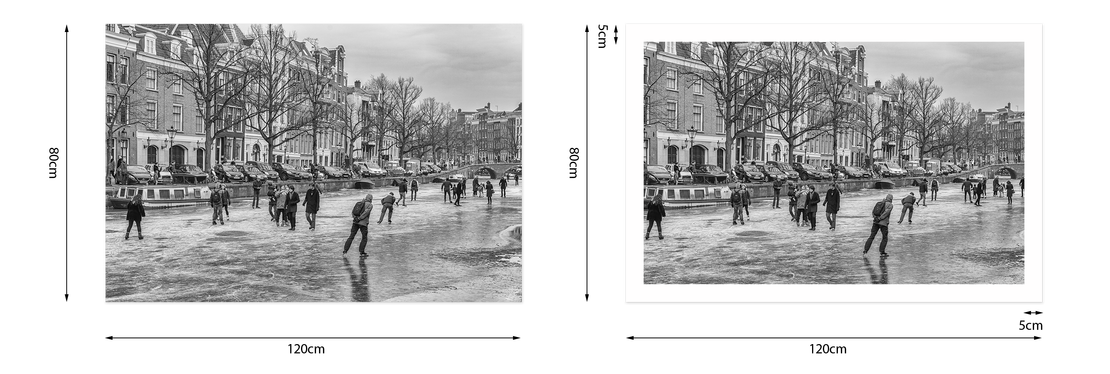 Fotoprint Witrand Amsterdam