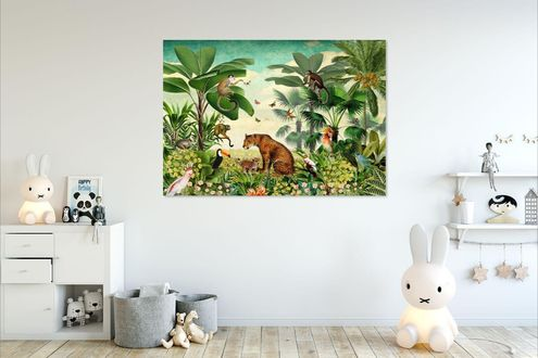 Behang kinderkamer babykamer Studio Poppy