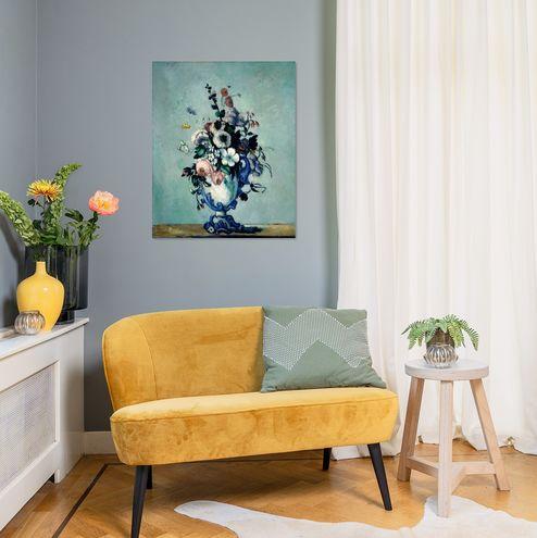 Paul Cezanne Bloemen In Een Rococo Vaas Sfeerfoto Collectie