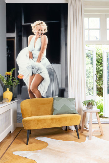 Werk Aan De Muur Monroe Behang 575051 Marilyn Monroe In The Seven Year Itch Bridgeman Images
