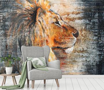 Werk Aan De Muur Leeuw Behang 547558 Lion Night Atelier Paint Ing Copy