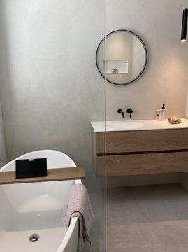 Moderne badkamer in de binnenkijker van Laura
