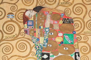 Gustav Klimt collectie Werk aan de Muur