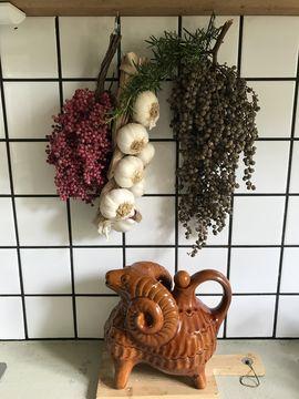Landelijk wonen keuken accessoires Werk aan de Muur