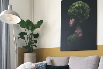 kunst passend bij bohemian woonstijl