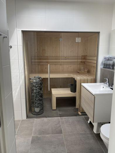 sauna vakantiehuis Werk aan de Muur