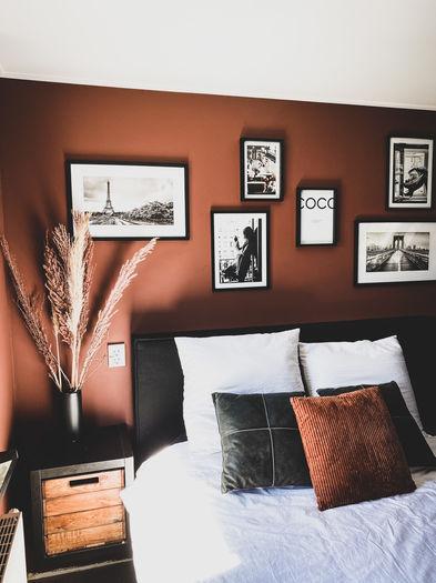terracotta slaapkamer