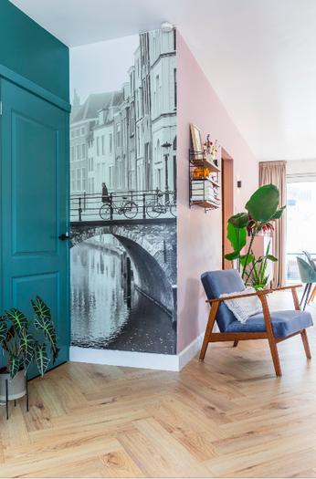 Binnenkijken Werk aan de Muur behang Utrecht