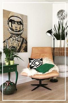 Woonstijl Vintage woonkamer Werk aan de Muur