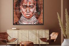Werkaandemuur 649248 Tribal Woman Atelier Paint Ing2 E79C8Ed798970A319Ae229F388505C39