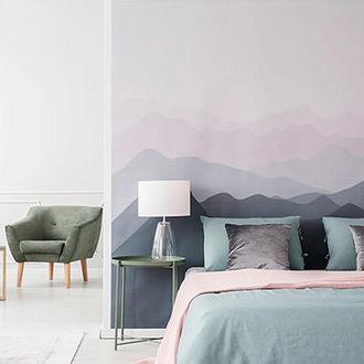 Bed Behang