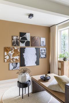 Kunst collage Werk aan de muur vtwonen