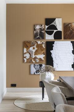 Kunst collage Werk aan de muur vtwonen Liza