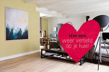 Werk aan de Muur te zien bij Weer verliefd op je huis