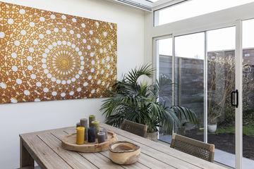 Weer verliefd op je huis make-over vtwonen print op doek goud