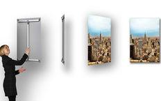 Foto Wandbilder auf Xpozer mit wiederverwendbarem Aufspannsystem aus Alu