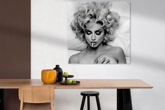 Madonna kunst eetkamer Werk aan de Muur