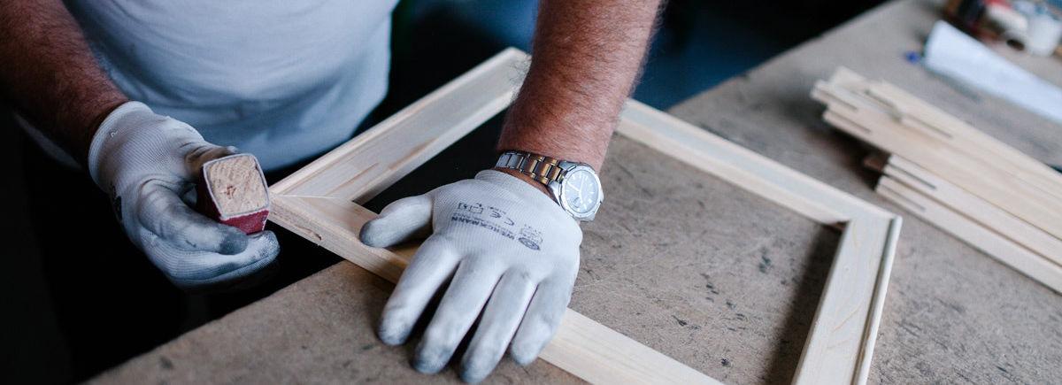 Werk aan de Muur productie materialen