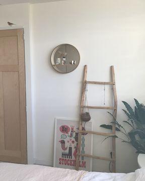 Binnenkijker Annemieke werk aan de muur