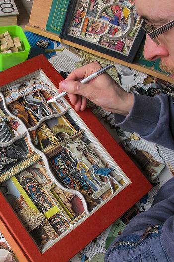 Oscarving beeldmaker vierkant