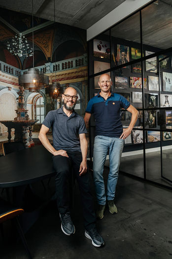 Oprichters Bas & Jasper Werk aan de Muur
