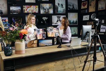 Online art studio