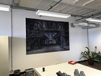 Akoestische schilderijen voor thuis en kantoor